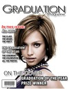 Graduation Magazine cover