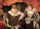 Casal real Monarcas Rosto