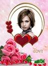 Love Roses Hearts