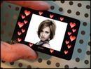 Mini digital frame Hearts