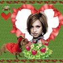Heart ♥ Dog Strawberries