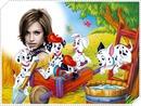 Child frame 101 dalmatians Disney