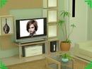 Escena Sala Pantalla plana LCD LG