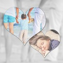 2 hearts Blur Background