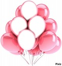 les ballons roses 4 photos