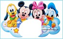 Mickey y Minnie Bebe
