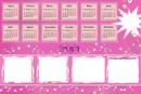 Violetta calendario 2014