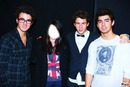 you and the jonas brothers ...