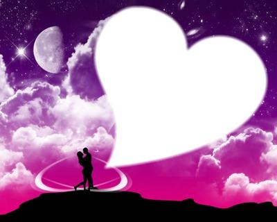 Montage photo amour romantique pixiz for Auteur romantique