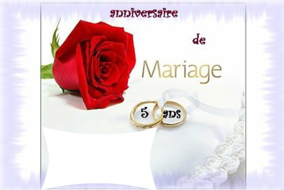 Citation Anniversaire De Mariage 5 Ans Gosupsneek