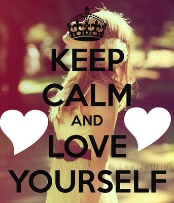 keep calm and love.